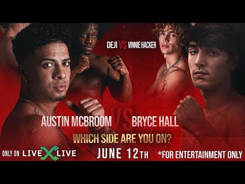 Who is fighting at YouTube vs TikTok boxing? Fight card including ...