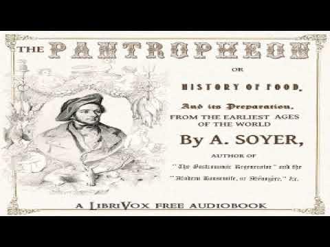 Pantropheon | Alexis Soyer | Cooking | Talking Book | English | 1/10