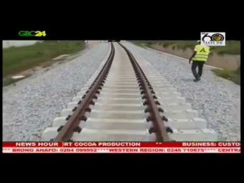 Government injects over $390m into construction of railway line from Tema to Akosombo