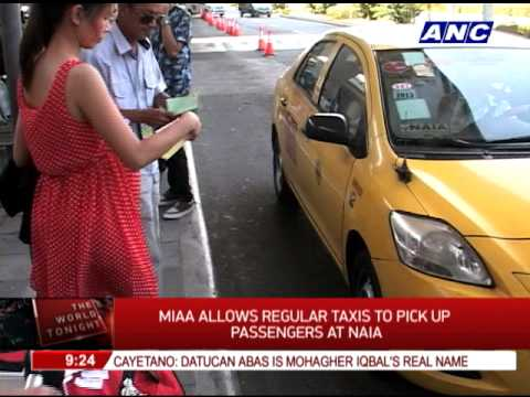 MIAA allows regular taxis to pick up passengers at NAIA