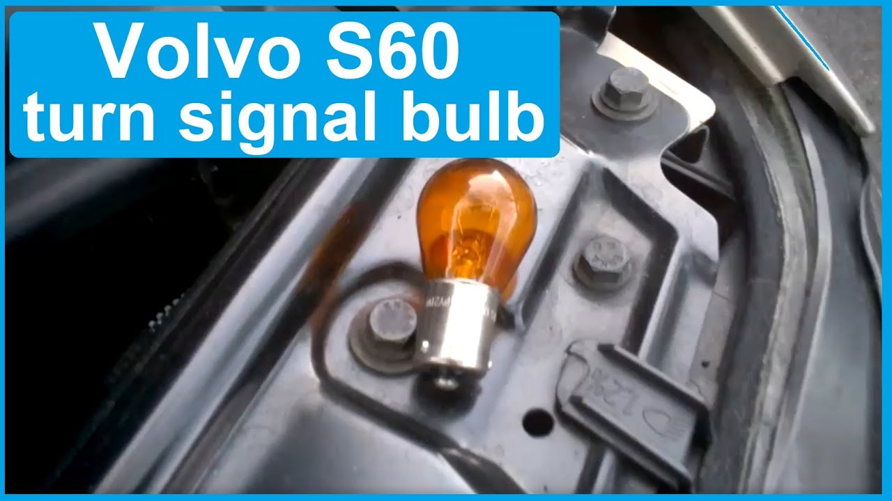 Volvo S60: Turn signals