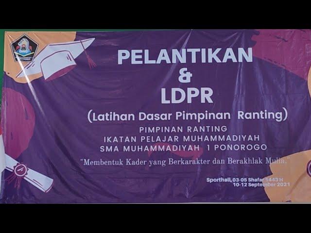 Live.! Pelantikan & Pembukaan LPDR IPM   SMA MUHIPO