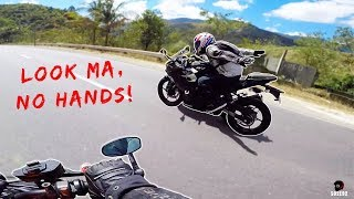 KAWASAKI Z1000 LONG RIDE WITH A NINJA 400 | HOW NOT TO MOTOVLOG | TAGALOG VLOG | 92