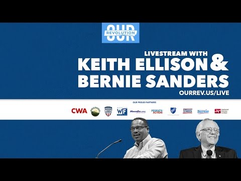 Keith for DNC Livestream