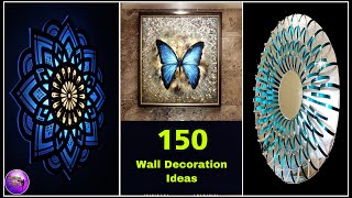 ❣️150+ DIY WALL DECOR❣️ | HOME DECORATING IDEAS | ART AND CRAFT | FASHION PIXIES