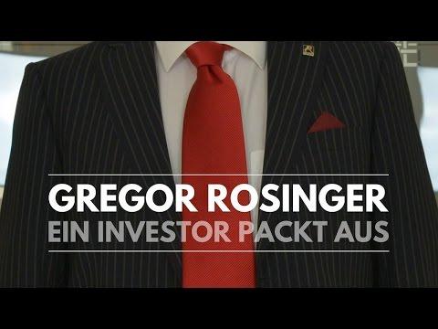 Investor Gregor Rosinger und erfolgreich finanzierter Unternehmer Erwin Stricker beantworten Fragen