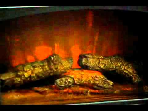 Southern Enterprises electric fireplace - YouTube