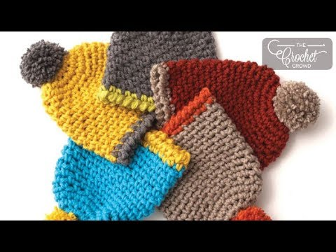 Crochet Easy Kids Hat Youtube