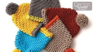 Crochet Easy Kids Hat