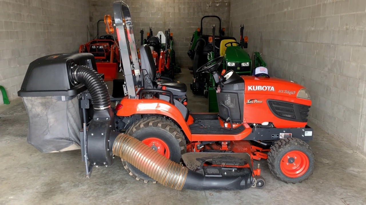 Kubota Bx Series Bagging System Mcs Overview
