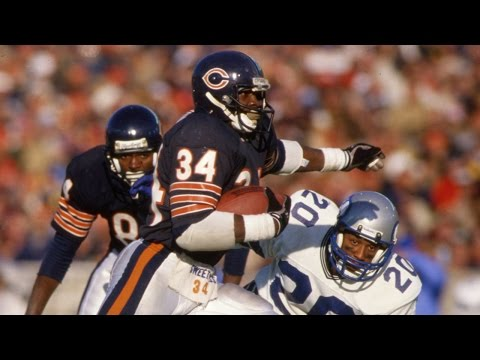 Walter Payton Career Highlight Feature | NFL