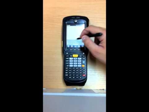 Motorola MC9596-K - Entering Data