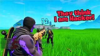 This new fortnite glitch will make everyone think you are hacking...