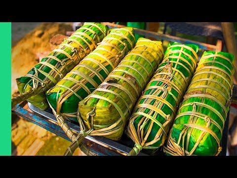 The dying art of COOKING BANH TET in Vietnam. Tet in Southern Vietnam!