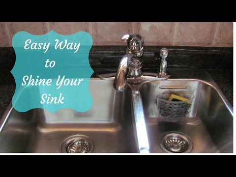 How to Clean, Disinfect and Shine Your Sink the Easy Way