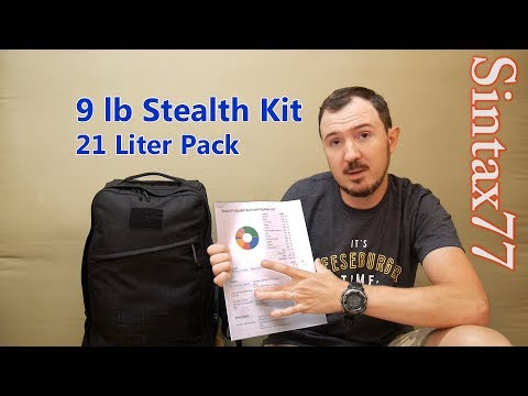 Stealth Backpacking Gear List - Go Camping on the Sly