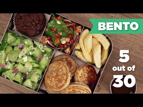 Bento Box Healthy Lunch 5/30 (Vegetarian) - Mind Over Munch