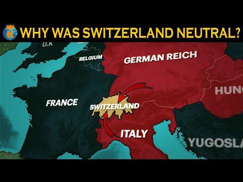 Why was Switzerland Neutral in World War 2