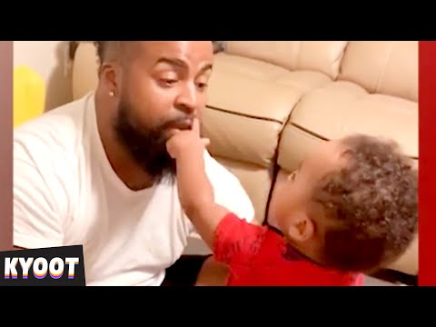 Babies Arguing With Daddy 🤣 | Baby Cute Funny Moments | Kyoot