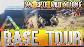 my base guided tour w amazing dinosaur mutations ark survival evolved xbox one