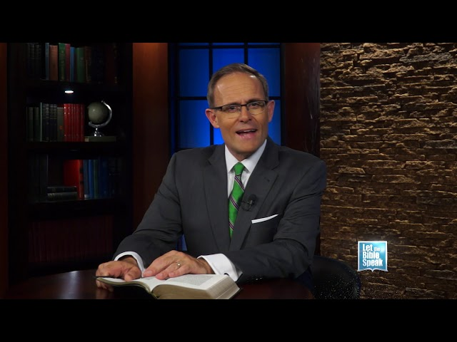 LET THE BIBLE SPEAK - The Authority Of The Bible