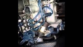Premier démarrage moteur D-722 Kubota