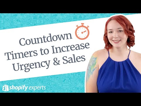 Using Countdown Timers to Increase Urgency for your Shopify store thumbnail