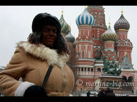 Martina Big in Moscow