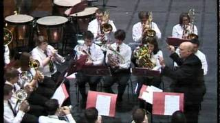 Keele University Brass Band Be Still For The Presence Of The Lord at Unibrass 2011.flv