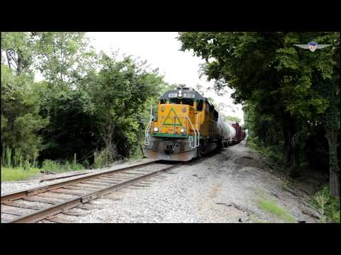 GTRA Mixed Freight Train with Caboose!-Columbus, Mississippi