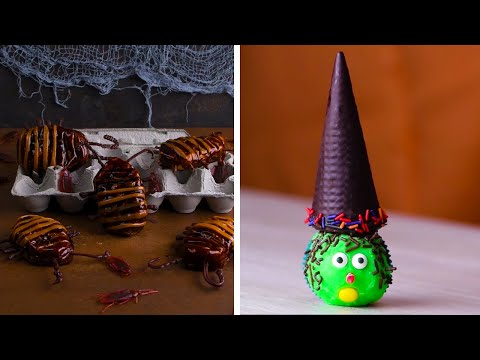 trick-or-treat-yo'-self-with-these-halloween-desserts!-|-diy-dessert-recipes-by-so-yummy