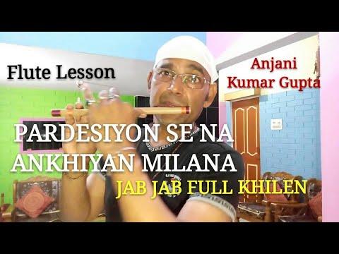Pardesiyon Se Na Ankhiyan Milana   Jab Jab Full Khile   Mo   Shashi Kapoor   Nimmi