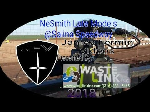 (NeSmith) Late Models #2, Heat 2, Salina Speedway, 2018