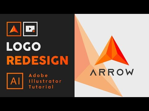 How to Redesign a Logo From Picture - Adobe Illustrator Tutorial thumbnail