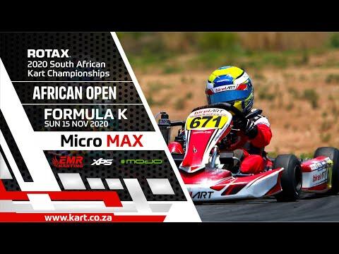 2020 SARMC African Open - Formula K - Micro Max