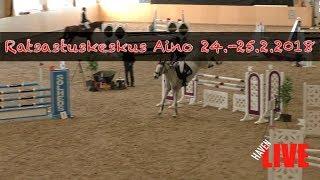 Ratsastuskeskus Aino 24.-25.2.2018 - Päivä 2 - SU