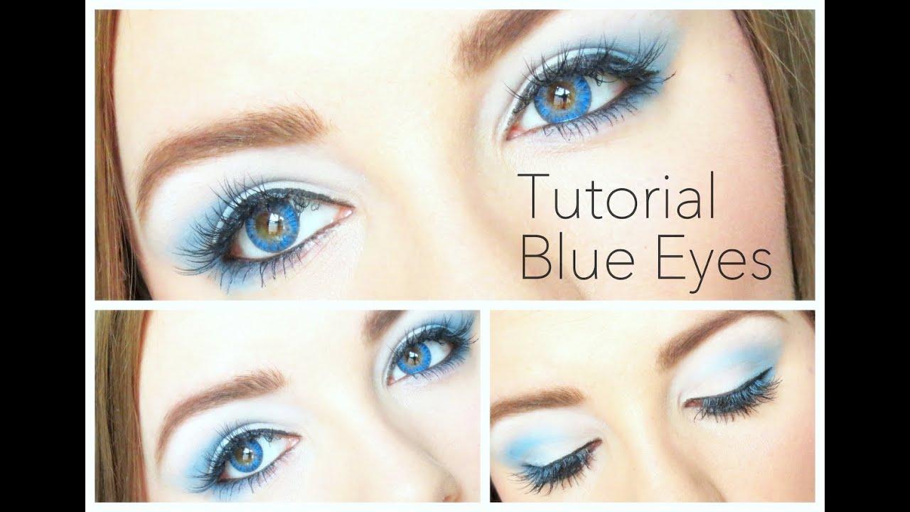 Makeup Tutorial For Blue Eyes Freshlook Colorblends