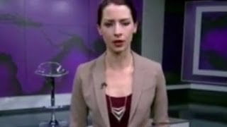 Russian reporter Meltdown Abby Martin  on Live Television