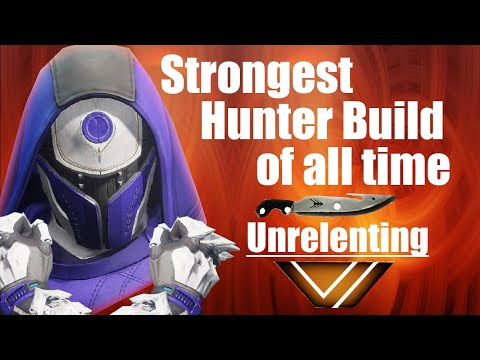 Destiny 2 Forsaken: Strongest Hunter Build of All Time - Unrelenting - Weapons/Subclass/Exotics thumbnail