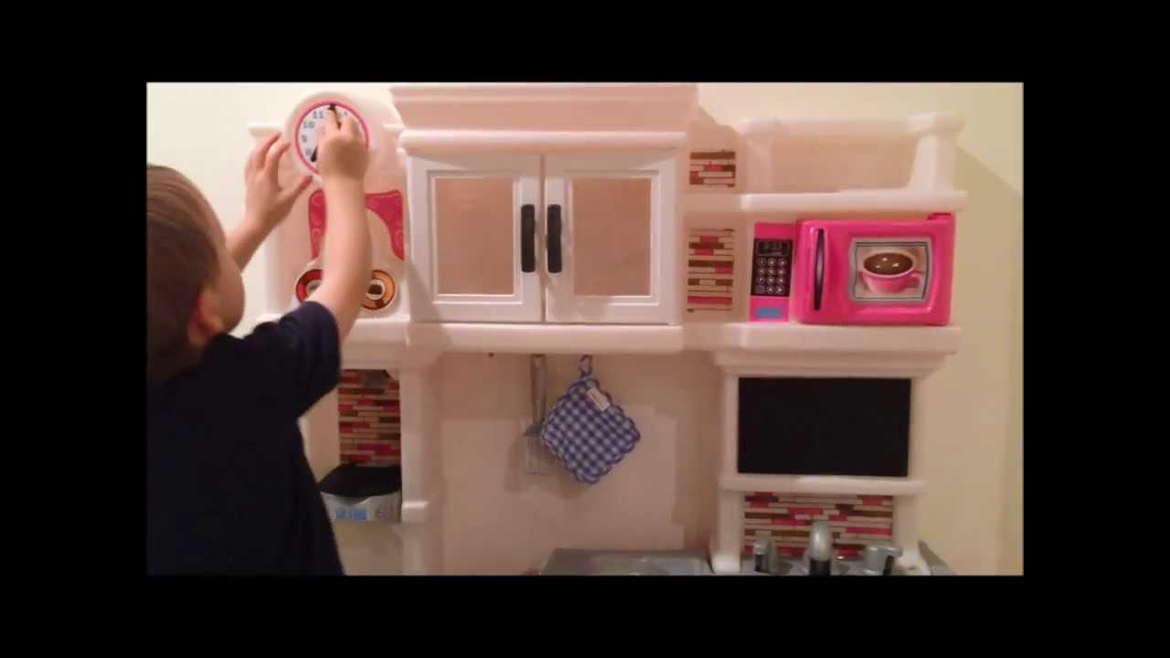 Pink Step 2 Kitchen Step2 Lil Chefs Gourmet Kitchen Youtube