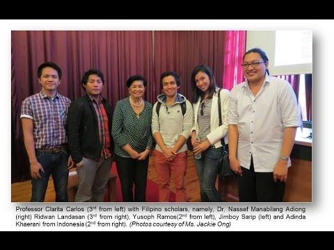 Professor Clarita R. Carlos on ASEAN 2020 Vision 2 of 2