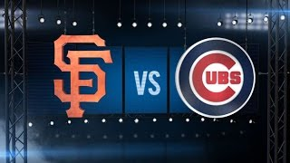 10/7/16: Baez, Lester lead Cubs to 1-0 victory