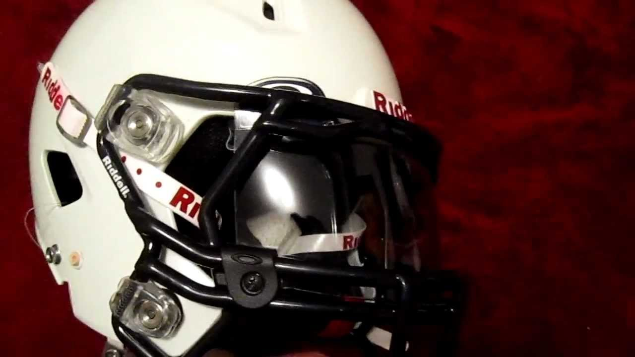 oakley visor  Ep. 5: Riddell Revo 360 with Oakley Visor - YouTube