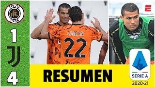 Spezia 1-4 Juventus. Volvió Cristiano Ronaldo, regresó la magia. 2 goles y entró de cambio | Serie A