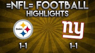 =NFL= Roblox Football Highlights | NYG @ PITT