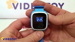 Smart Baby Watch Q60 - дитячі годинник з gps аналог Q50, Q90, Q100