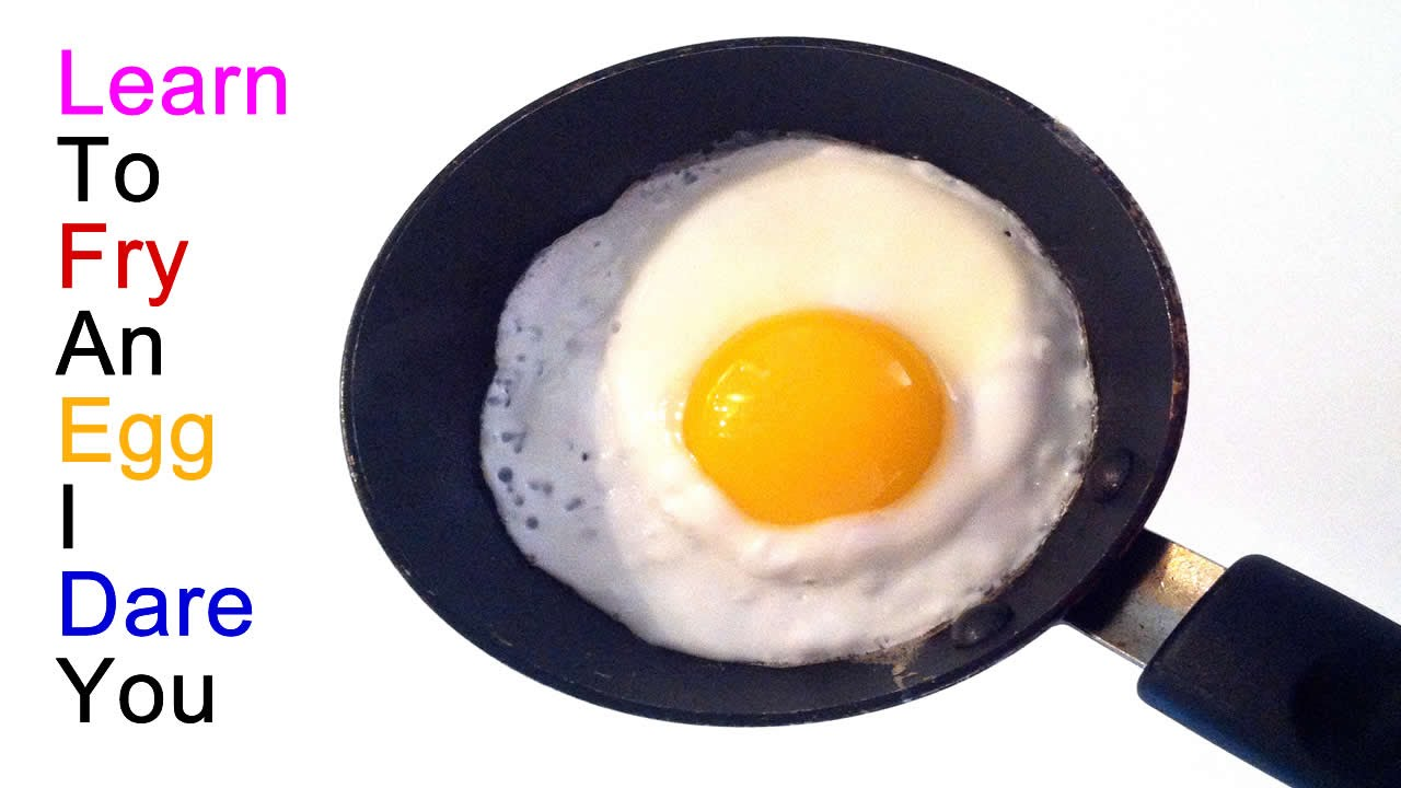 Perfect How To Fry An Egg   Sunny Side Up, Over Easy, Over Well, Etc. We Cover It