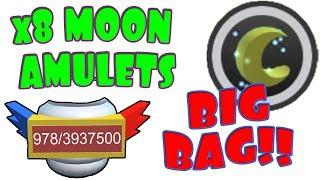 amuleto MOON #8 - bagaglio EXTRA spazio - ape sciame Simulator - ROBLOX