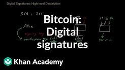 Bitcoin - Digital Signatures