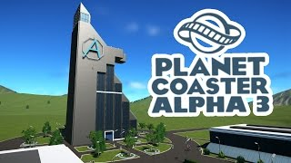 Planet Coaster Alpha 3 Gameplay - Marvel Theme Park! - Let's Play Planet Coaster Alpha 3 Part 1